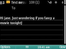 old schoool text