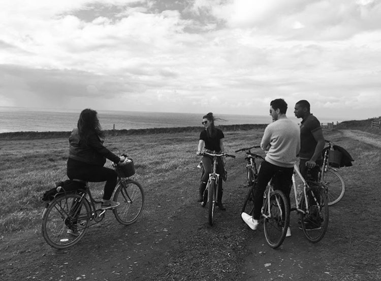 Bike riding round Bude.  Bike hire - £10 Laughs when I nearly fell in a ditch - priceless